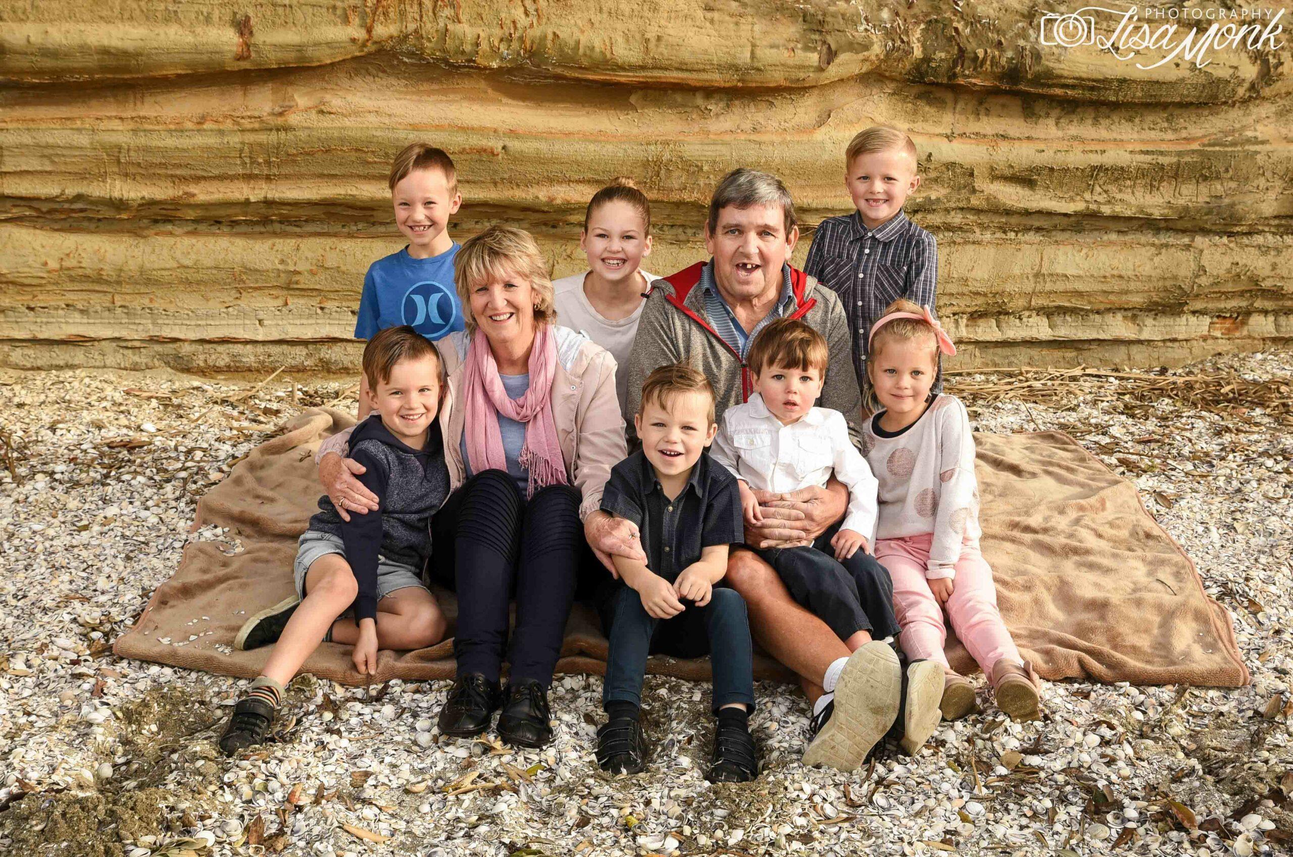 Family photo shoot auckland