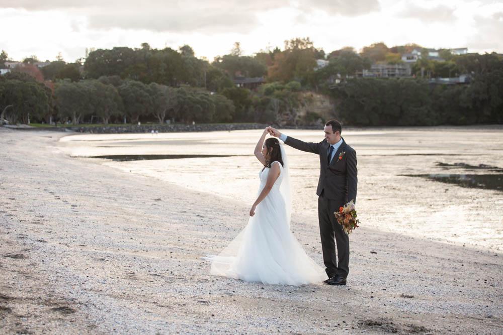 Auckland Beach Wedding