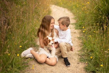 Relaxed family portraits